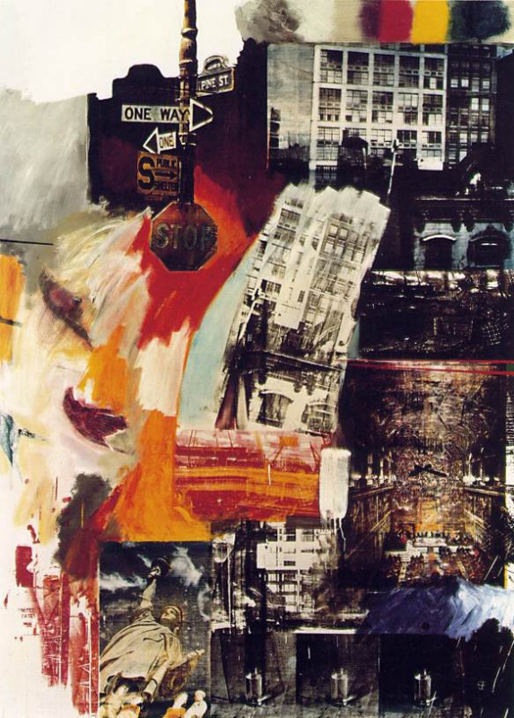 Robert Rauschenberg. The property