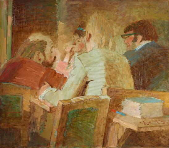 Ювеналий Дмитриевич Коровин. Беседа