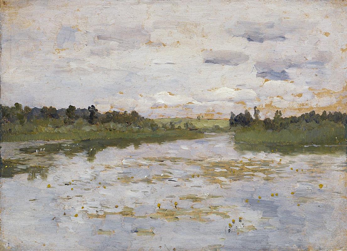 Исаак Ильич Левитан. Озеро