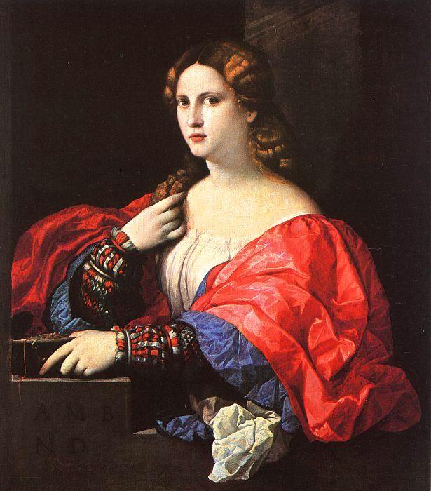 Джакомо Пальма. Женский портрет