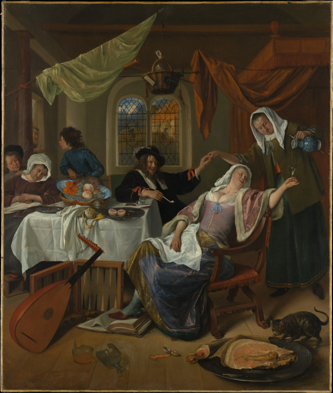 Jan Steen. Rascal family