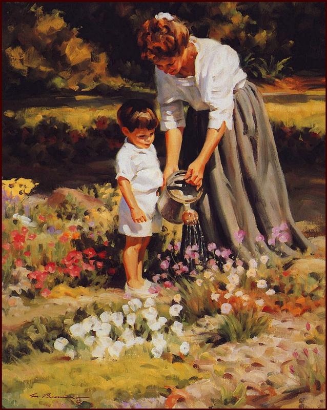 Том Браунинг. Прогулки в саду