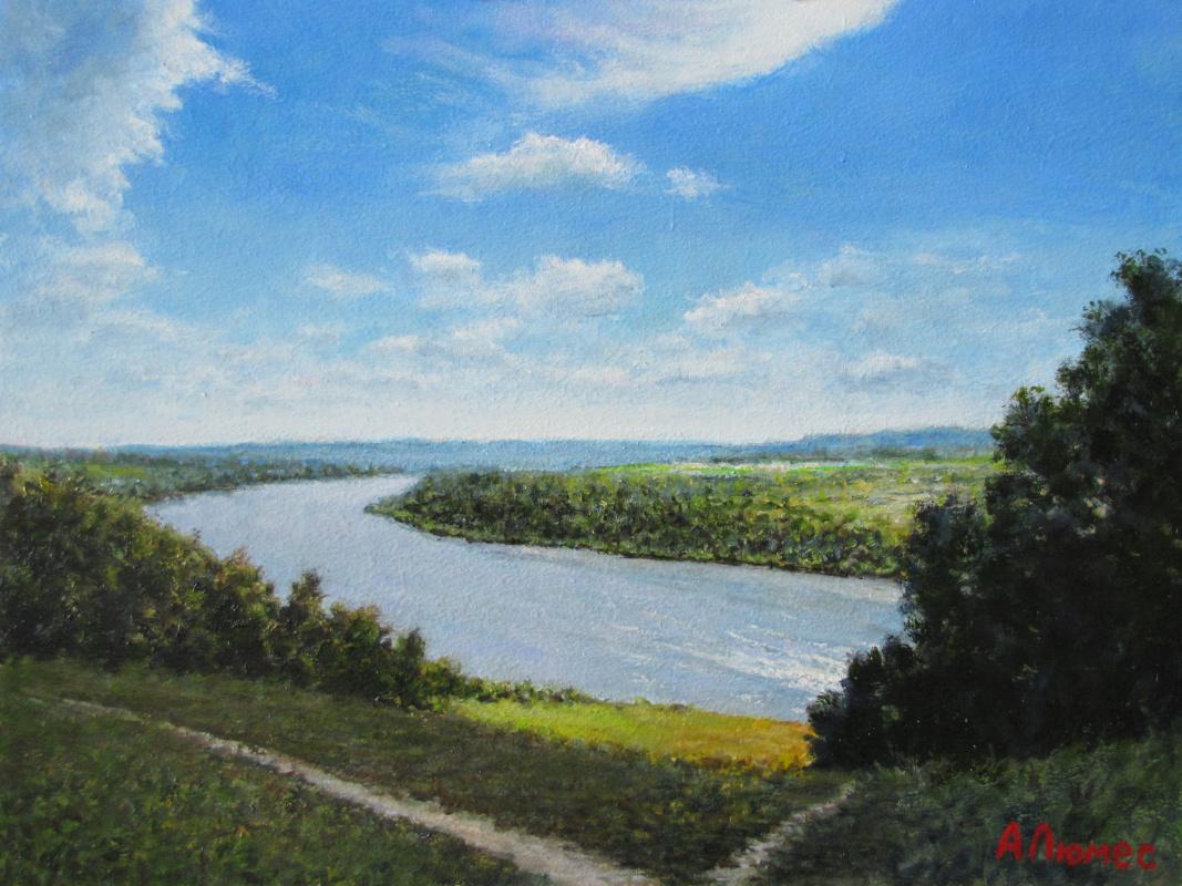 Andrew Lumez. On the river