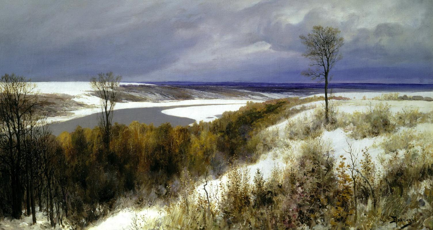 Василий Дмитриевич Поленов. Ранний снег