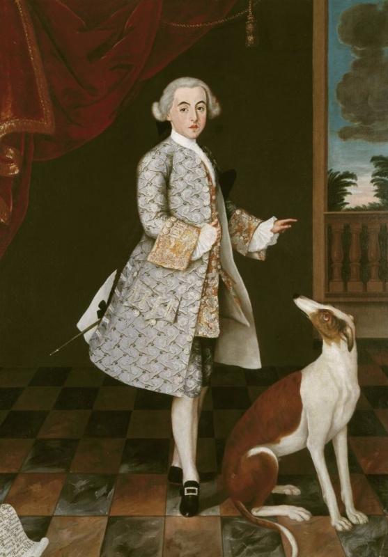 Портрет Франсиско де Оренсе и Моктесума, графа Вильялобоса