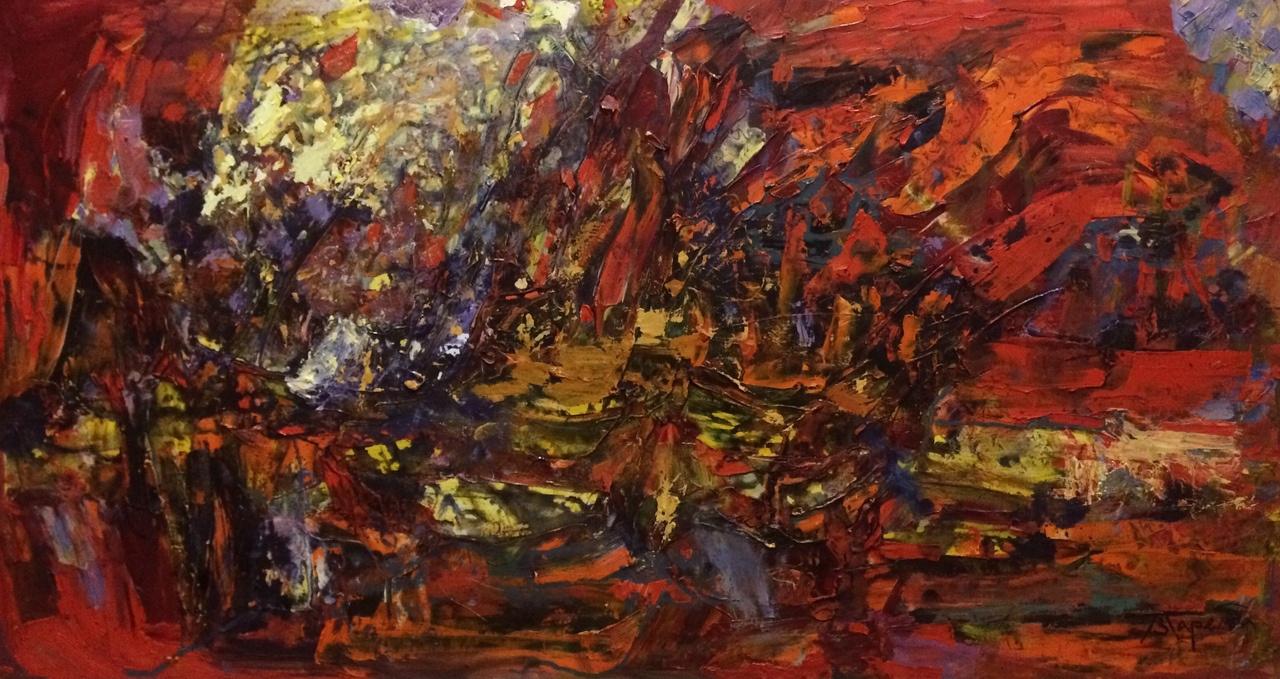 Polina Evgenevna Zaremba. Red river