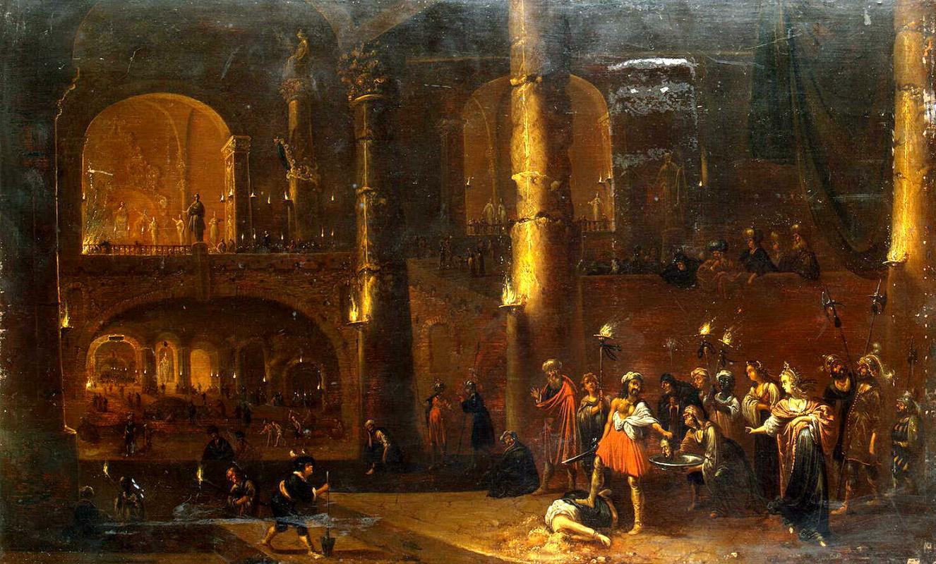 Ромбаут ван Тройен. Казнь Иоанна Крестителя