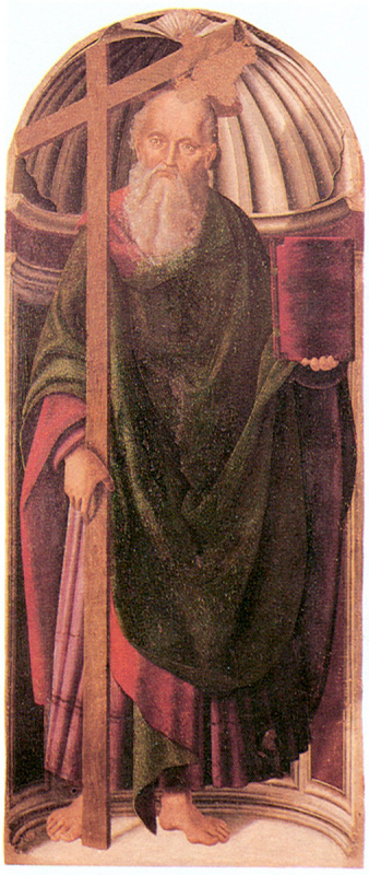 Джованни Санти. Апостол с крестом