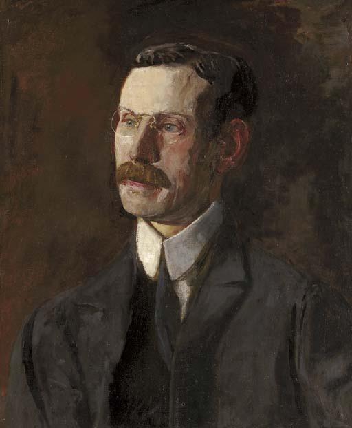 Thomas Eakins. Portrait Of Ernest Lee Parker