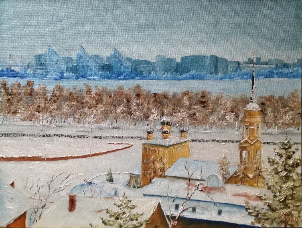 Sergei Nikolayevich Khodorenko-Zatonsky. Admiralty temple