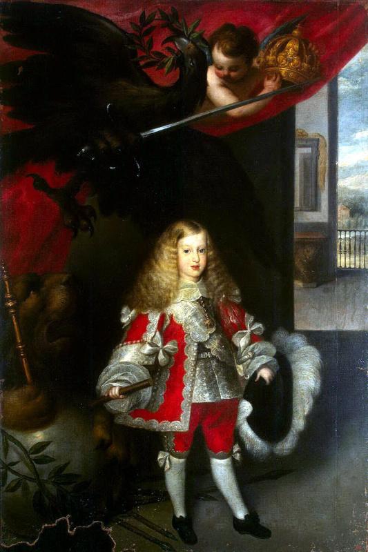 Себастиан Эррера Барнуэво. Портрет Карлоса II в детстве