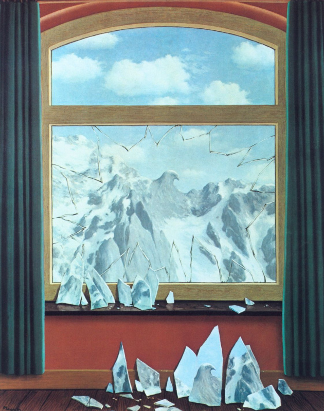 René Magritte. The Domain of Arnheim