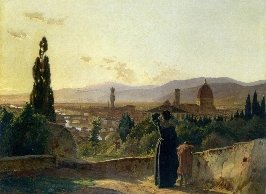 Nikolai Nikolaevich Ge. Florence