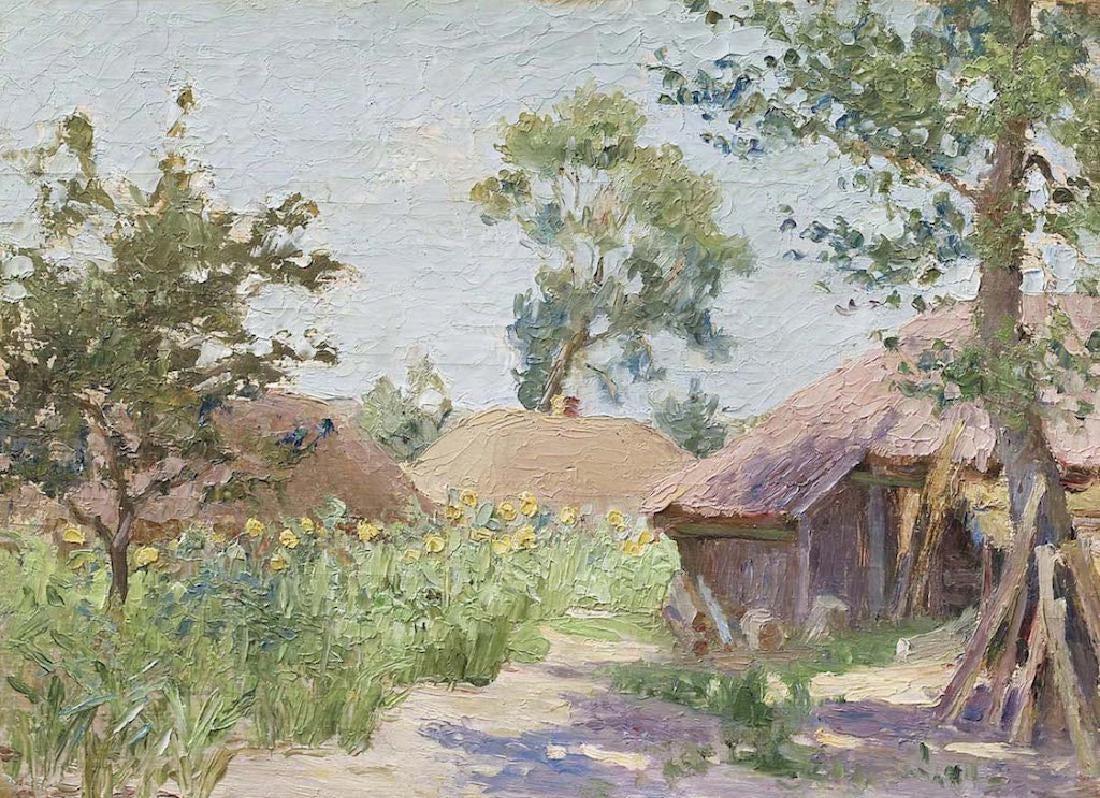 Николай Григорьевич Бурачек. Summer