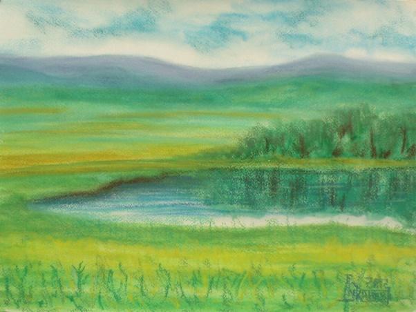 Larissa Lukaneva. Lake Abol'