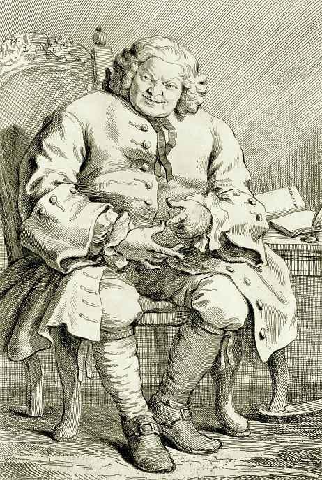 Уильям Хогарт. Портрет Саймона, лорда Ловета