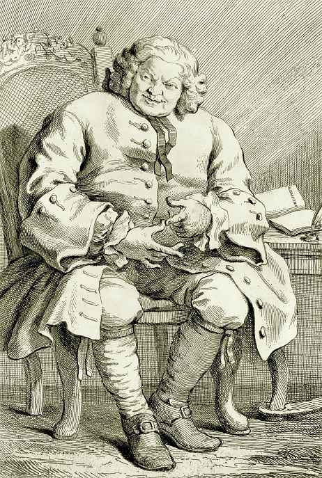 William Hogarth. Portrait of Simon, Lord Lovet