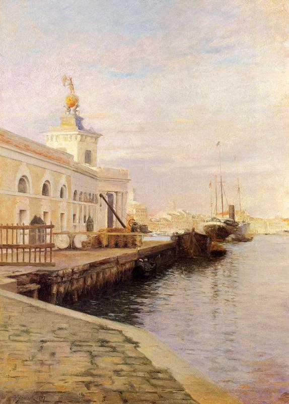 Юлий Леблан Стюарт. Венеция