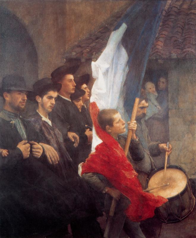 Паскаль Адольф Жан Даньян-Бувре. Призывники