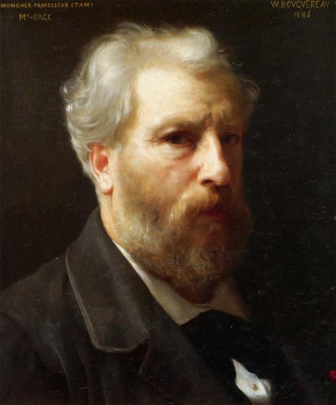 Вильям Адольф Бугро. Автопортрет