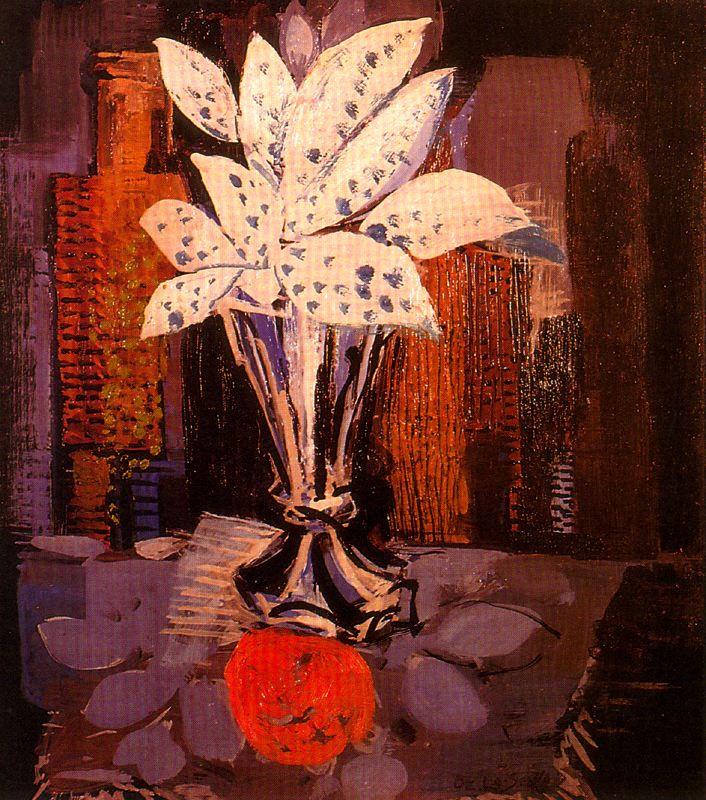 Исмаэль Гонсалес де ла Серна. Цветы в вазе