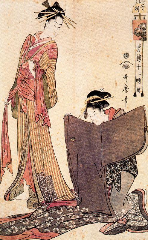 Kitagawa Utamaro. Outfits