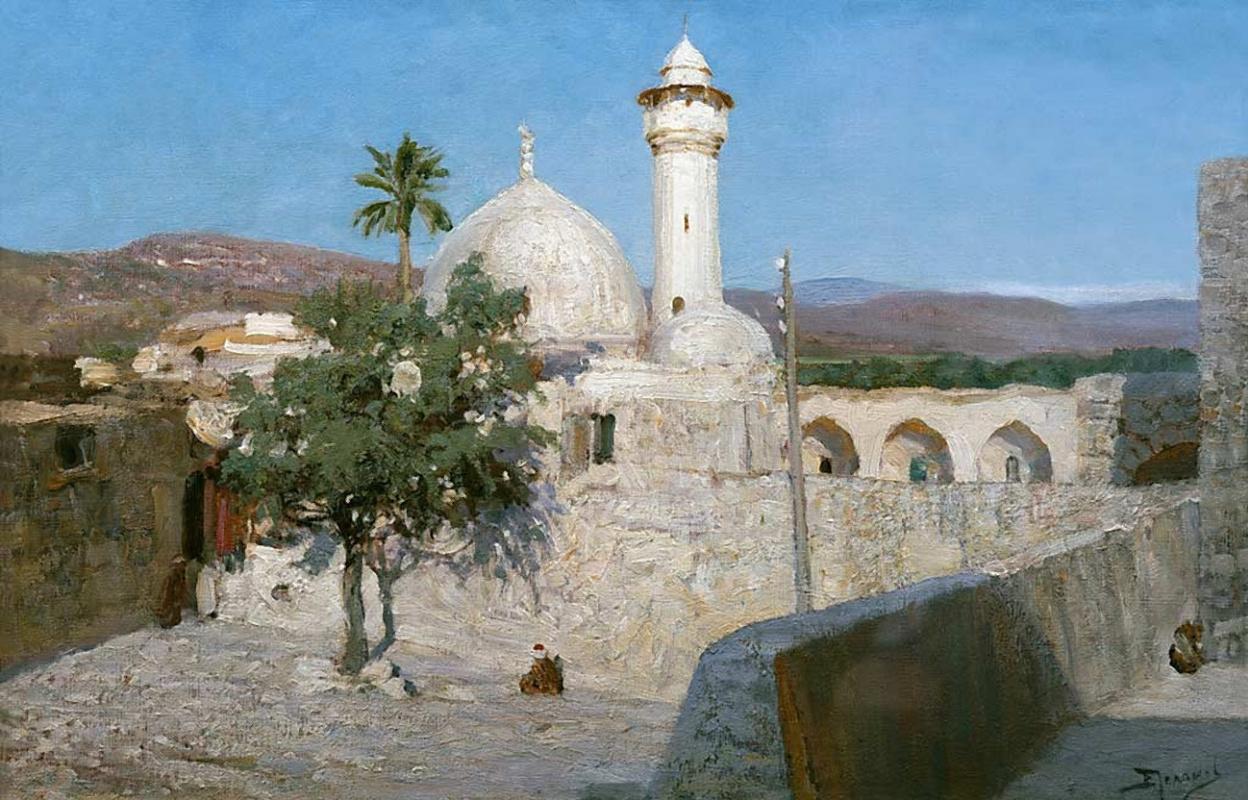 Василий Дмитриевич Поленов. Мечеть в Дженине
