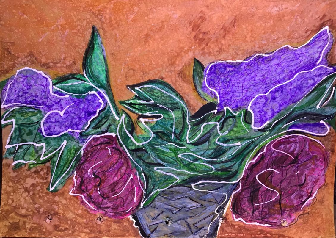 Krbtv _dm. Peonies and lilac