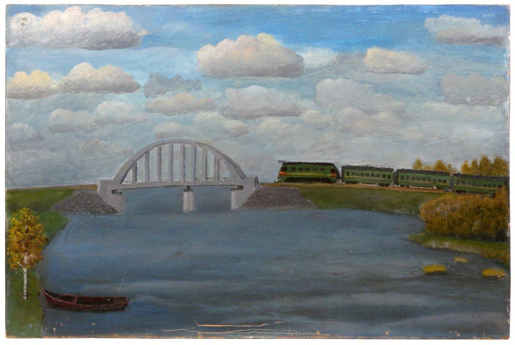 Alexander Vasilyevich Suvorov. Bridge