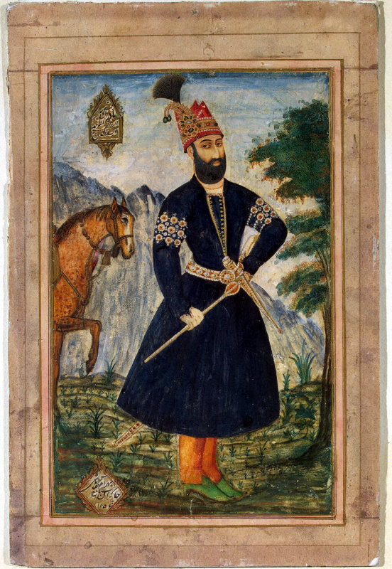 Bahram. Portrait Of Nadir Shah