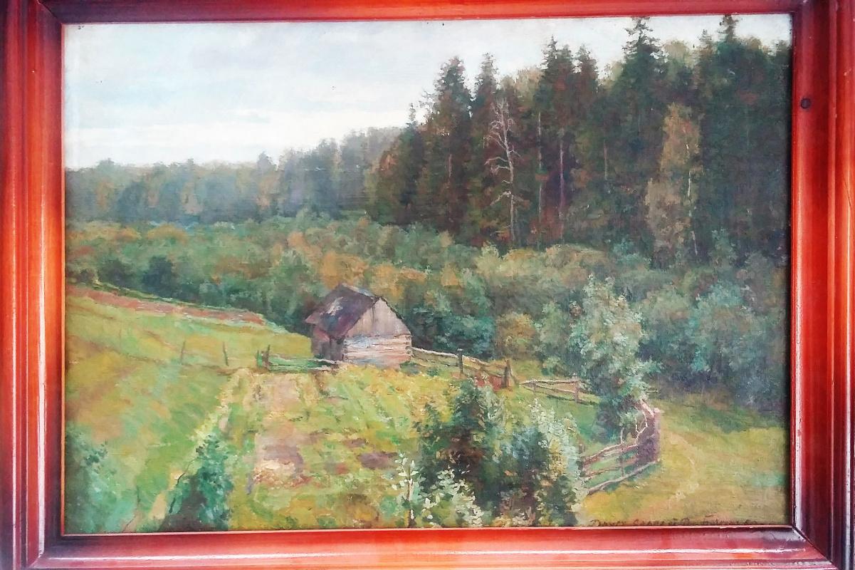 Dmitry Ivanovich Buchkin. Hut on the edge.
