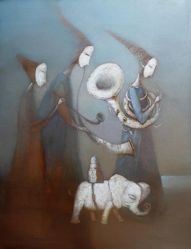 Victor Panchenko. The pilgrims