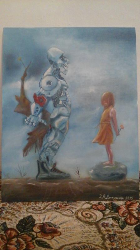 Дегтяренко. Робот и девочка