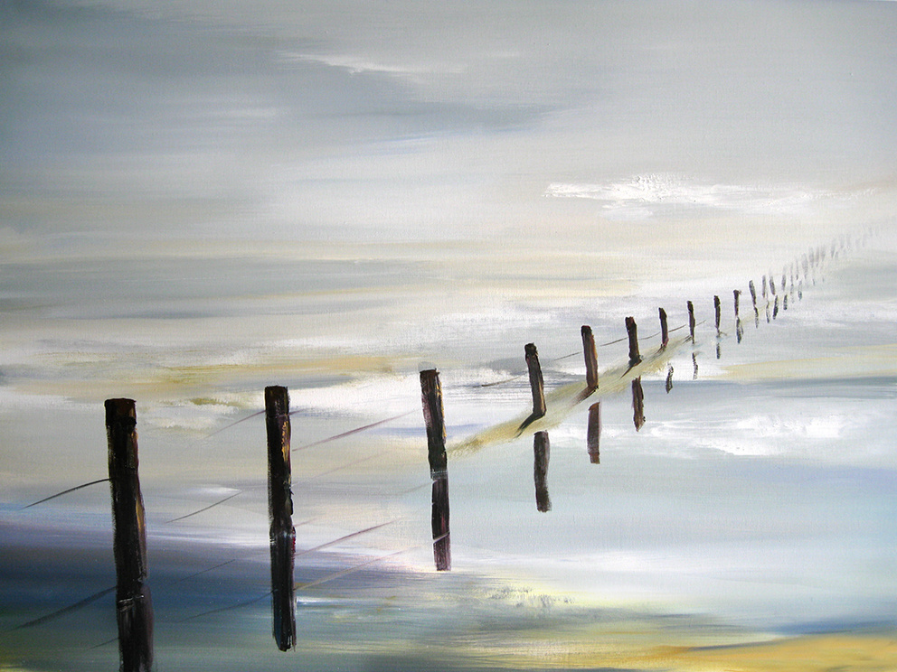 Robert Hettich. On the shore of the sky III