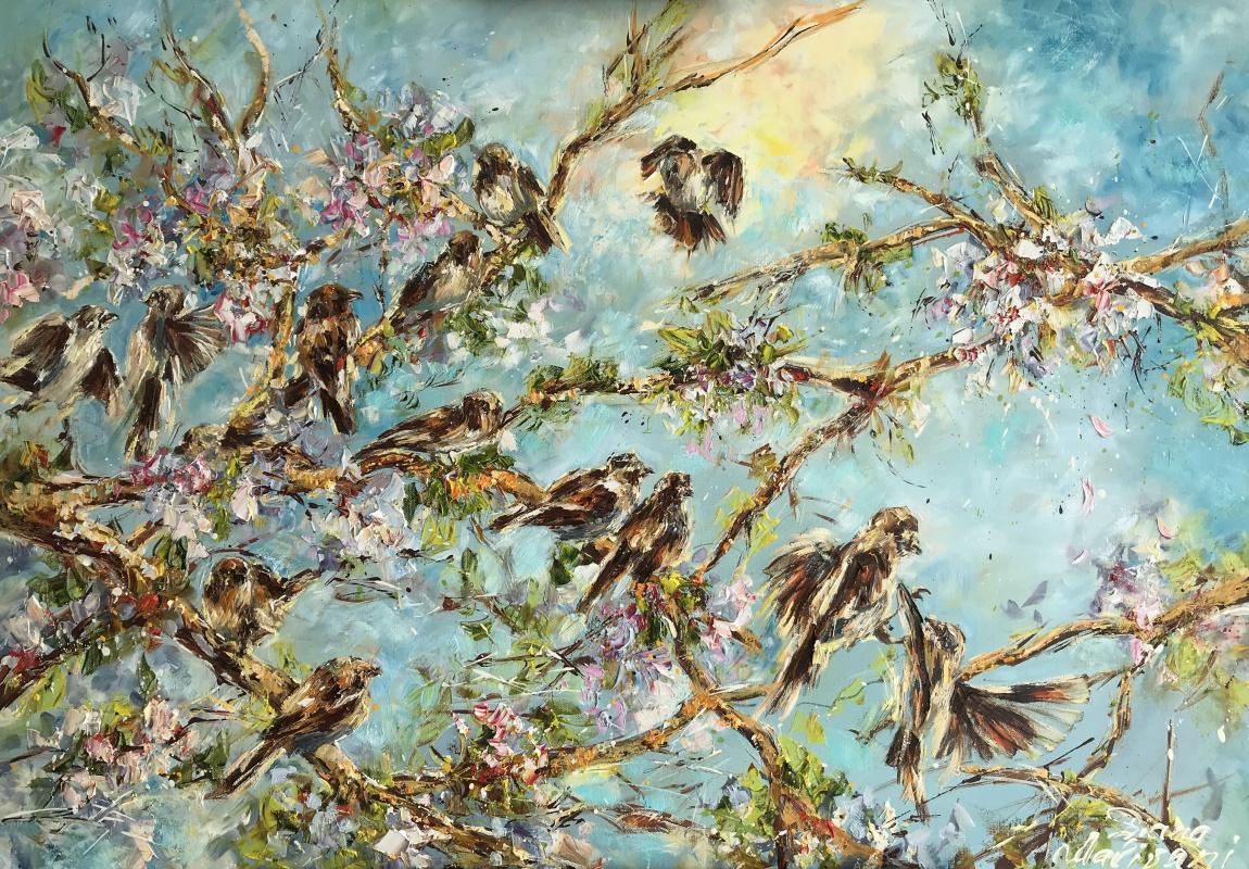 Диана Владимировна Маливани. Sparrows