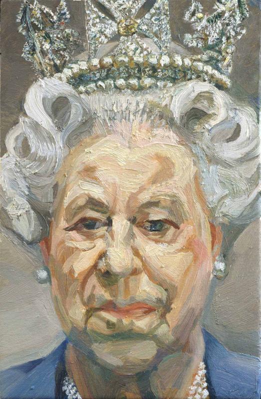 Люсьен Фрейд. Ее Величество Королева Елизавета II