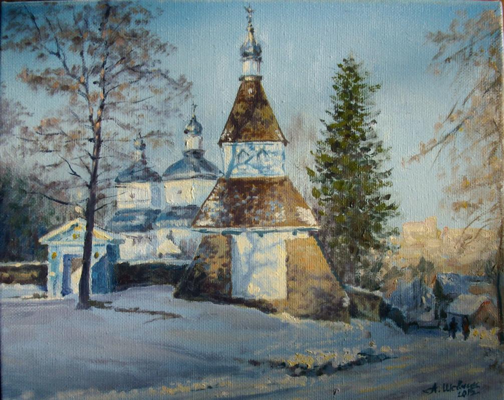 Anatoly Ivanovich Shevchik. Nicholas Church