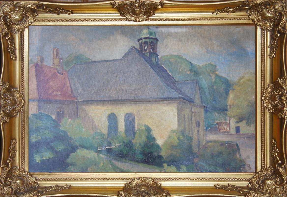 Unknown artist. City (Cezanne)