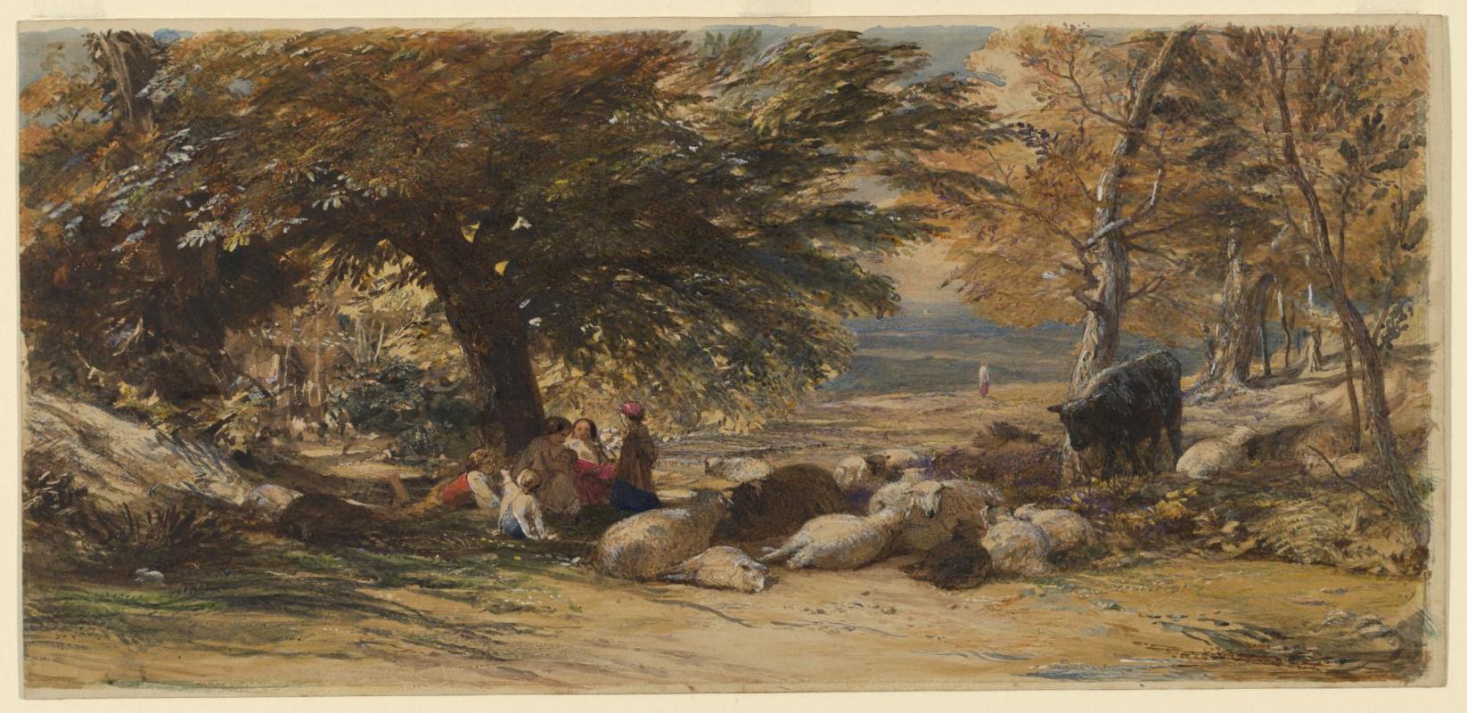 Samuel Palmer. Noon, rest time