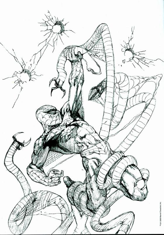 Габриэле Делл Отто. Человек паук 7