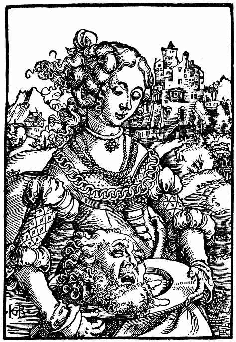 Ханс Бальдунг. Саломея с головой Иоанна Крестителя