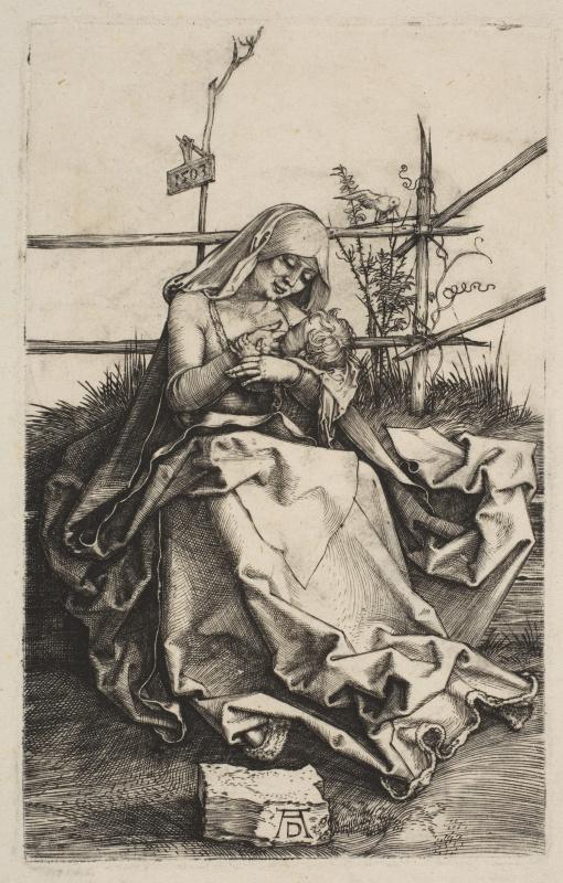 Мария на дерновой скамье