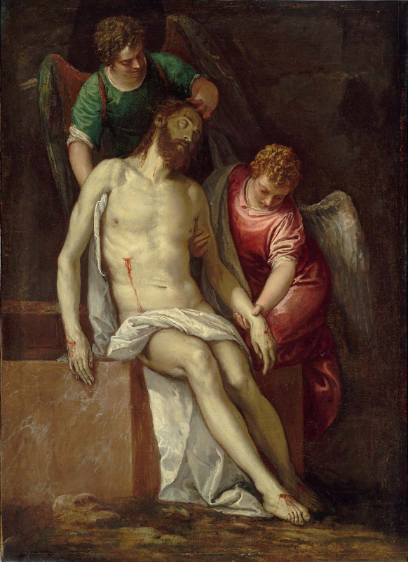 Paolo Veronese. Dead Christ supported by angels