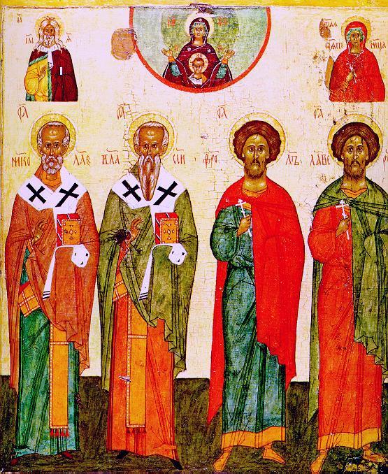 Icon Painting. Saints