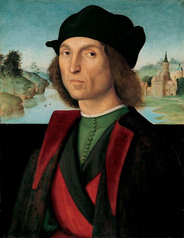 Рафаэль Санти. Портрет неизвестного мужчины