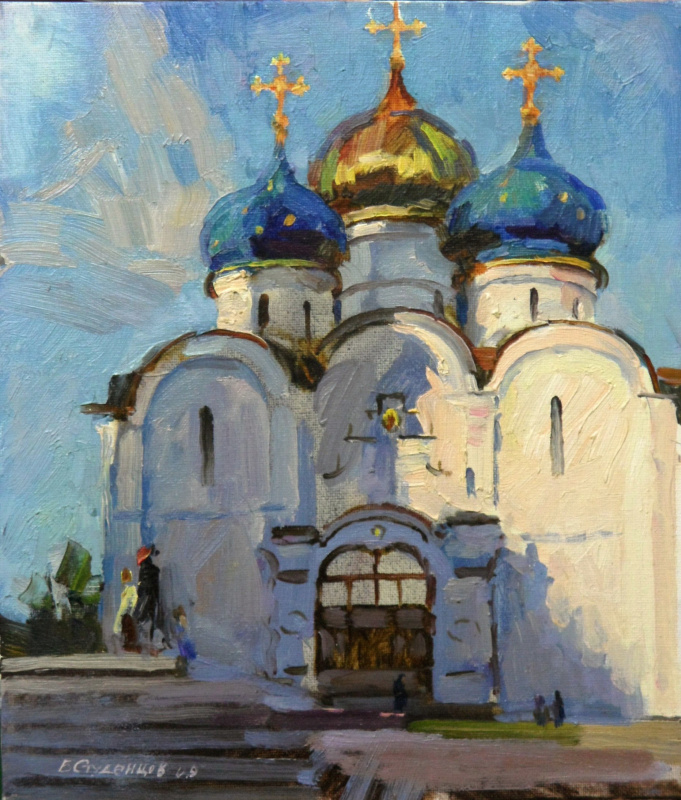 "Boris Anatolevich Studentzov. ""In the Trinity-Sergius Lavra"""
