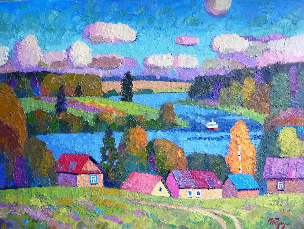 Igor Zagrievich Berdyshev. River houses