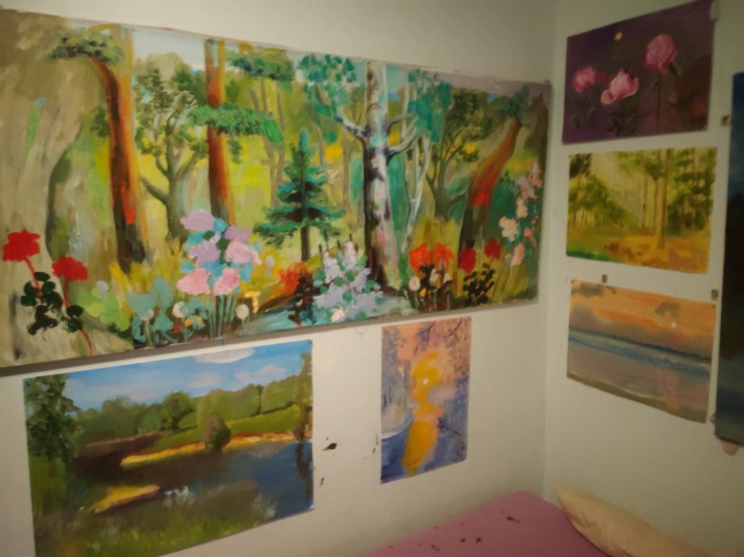 Igor Gennadievich Lysov. Landscapes