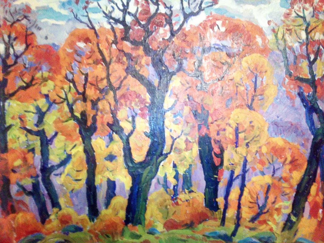 Boris Nikolaevich Loshkarev. Autumn