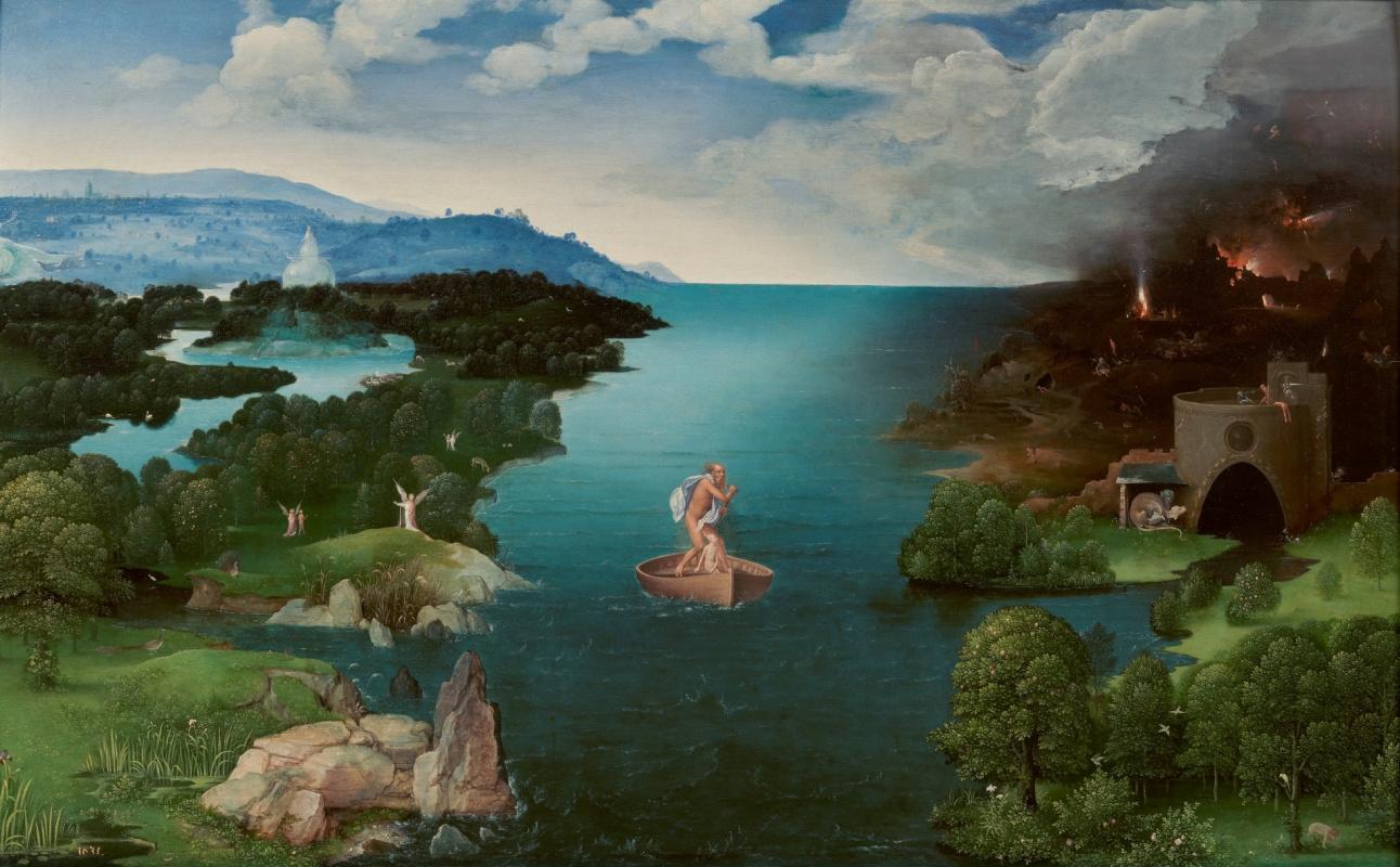 Joachim Patinir. Crossing the Styx